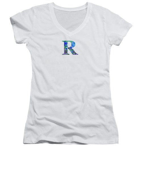 R 2019 Collection Women's V-Neck