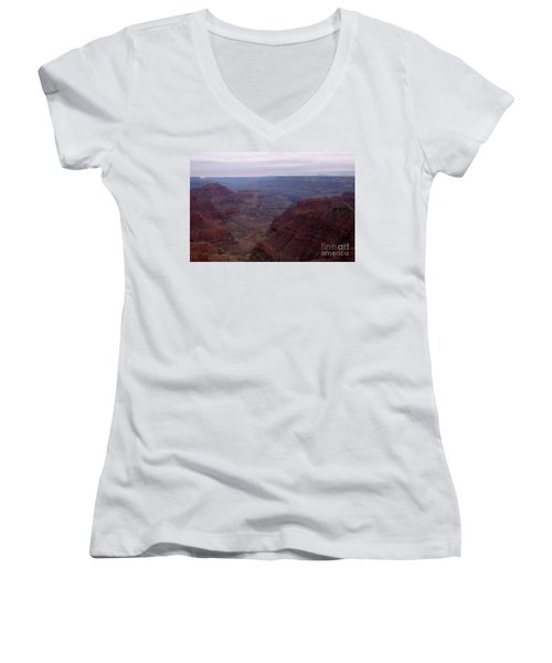 Red Grand Canyon Women's V-Neck