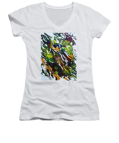 Rivers And Valleys Women's V-Neck