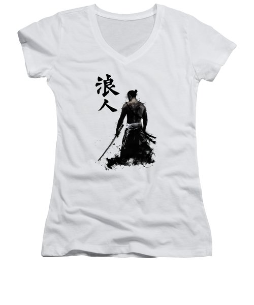 Ronin  Women's V-Neck