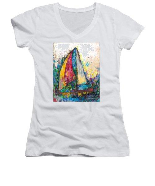 Rough Sailing Women's V-Neck