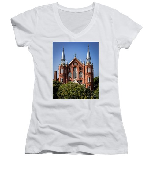 Sacred Heart Cultural Center - Augusta Ga Women's V-Neck