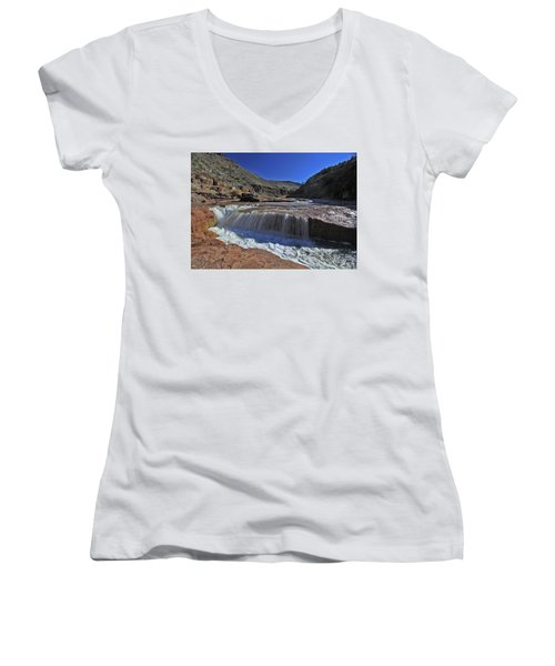 Salt Falls Women's V-Neck