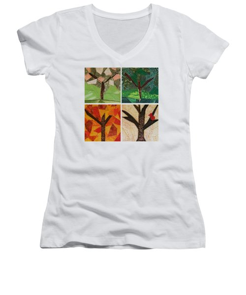 Seasons Women's V-Neck