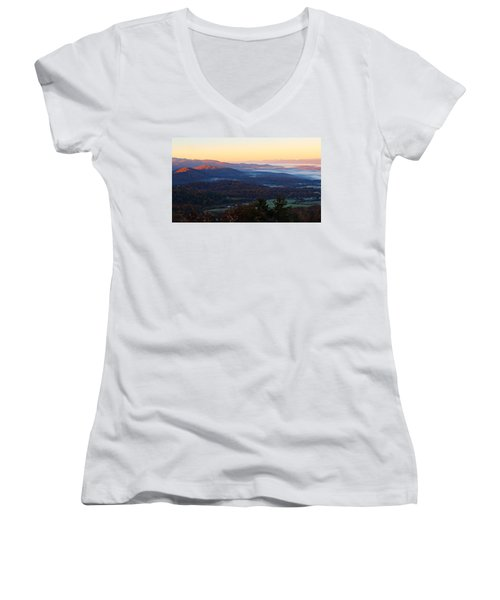 Shenandoah Mountains Women's V-Neck