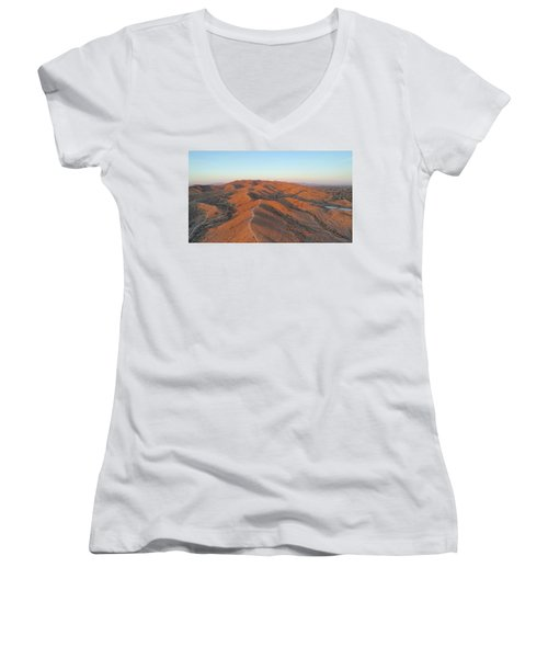 South Mountain Sunrise Women's V-Neck