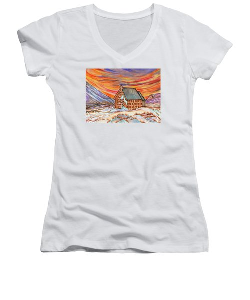 Stone Refuge Women's V-Neck