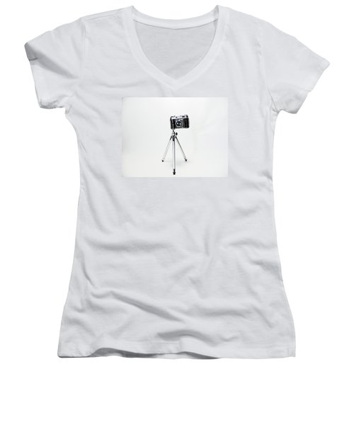 Studio. Kodak Retina 2. Women's V-Neck