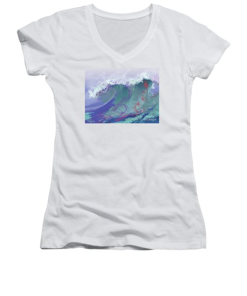 Surf's Up Women's V-Neck