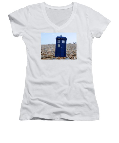 Tardis - Vacation Women's V-Neck