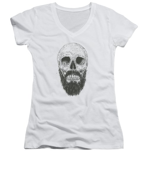 The Beard Is Not Dead Women's V-Neck