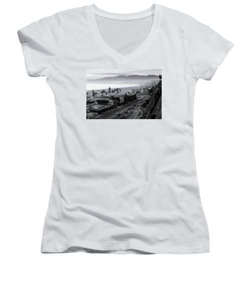 The Evening Drive Home Women's V-Neck