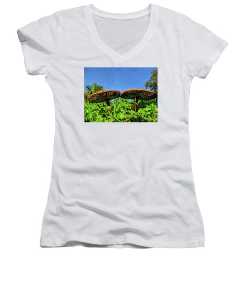 The Twins Women's V-Neck