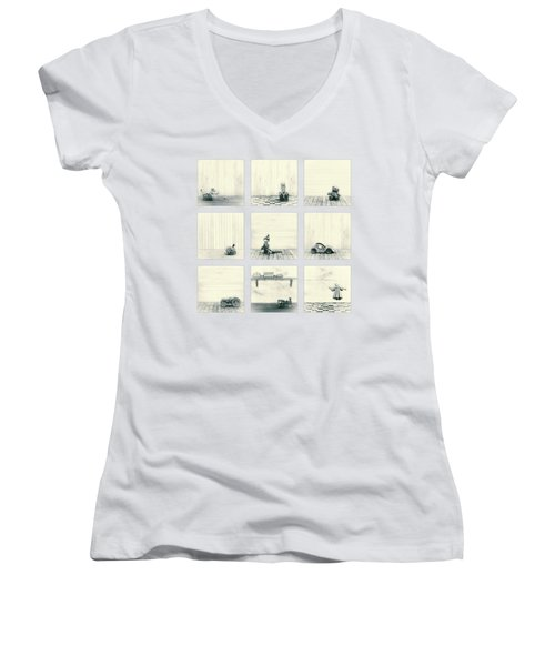 Toy Collection Women's V-Neck