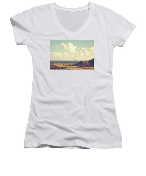 View From Mihintale Women's V-Neck