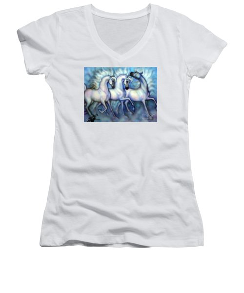 We Three Kings Women's V-Neck