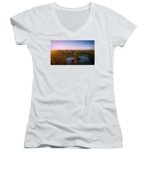 West Coast Vibe Women's V-Neck