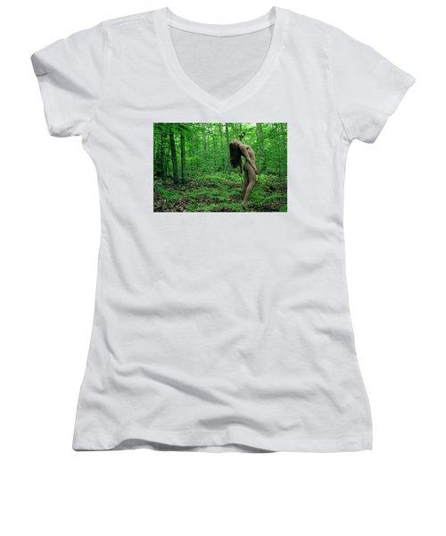 Woods Women's V-Neck