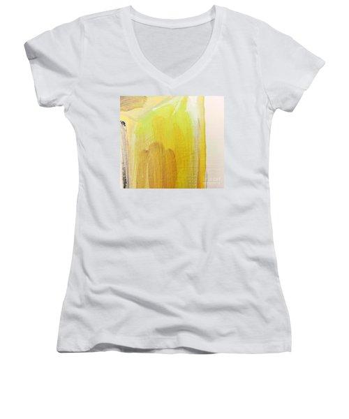 Yellow #3 Women's V-Neck