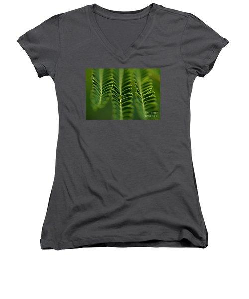 A Green Drop Women's V-Neck