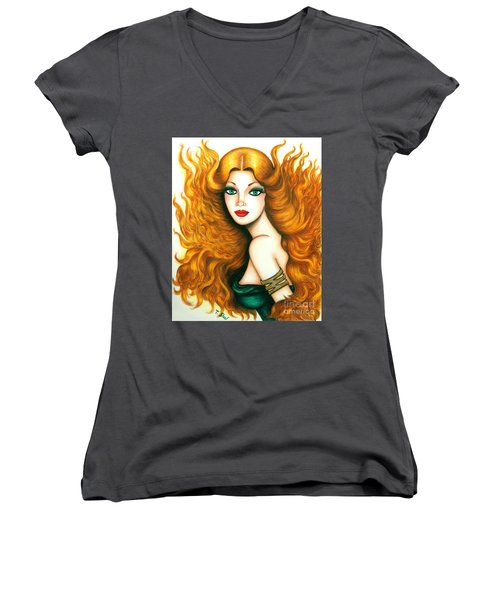 Luminous Women's V-Neck T-Shirt