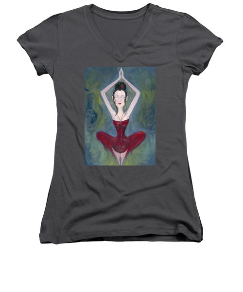 Seeking Women's V-Neck
