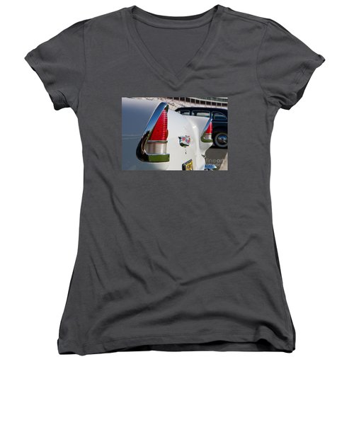 1955 Chevy Bel Air Women's V-Neck (Athletic Fit)