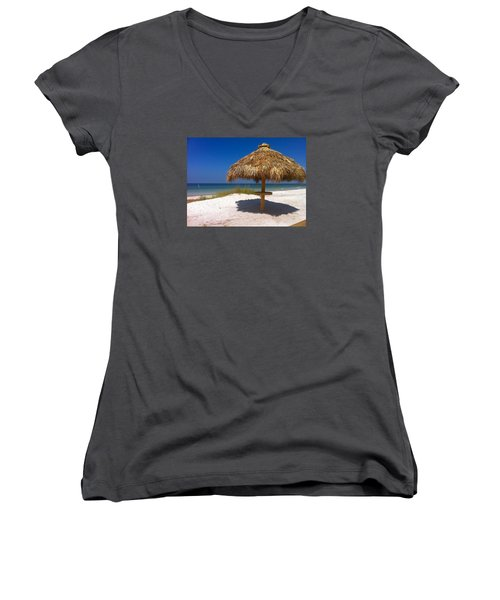 Anna Maria Island Women's V-Neck (Athletic Fit)
