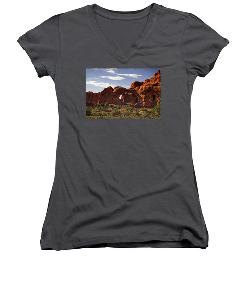 Arches National Park Women's V-Neck