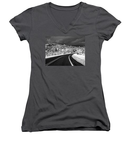 Arizona Snow 2 Women's V-Neck T-Shirt