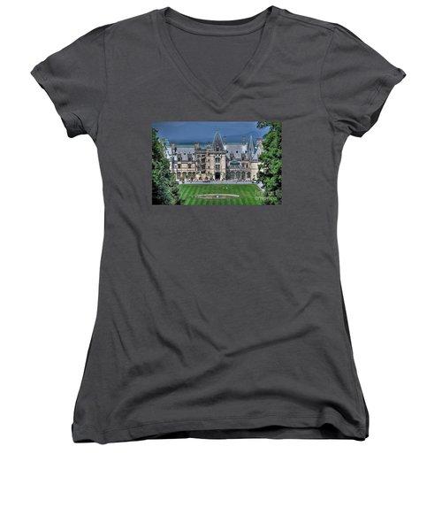 Biltmore House Women's V-Neck T-Shirt