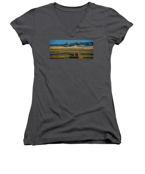 Bluff Country Women's V-Neck T-Shirt