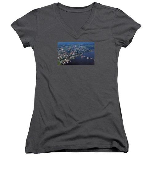 Chestertown Maryland Women's V-Neck T-Shirt