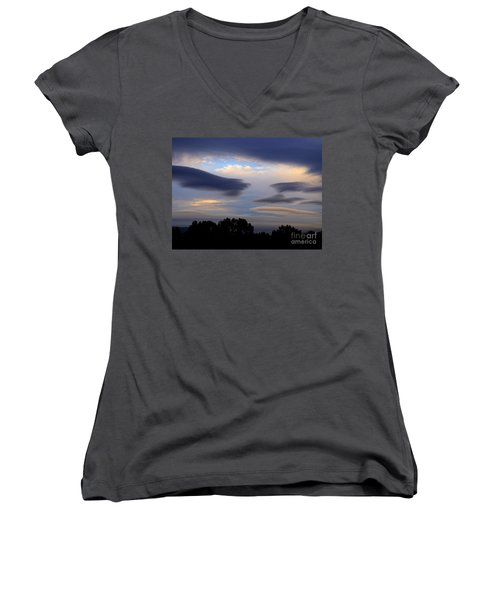 Cloudy Day 2 Women's V-Neck T-Shirt