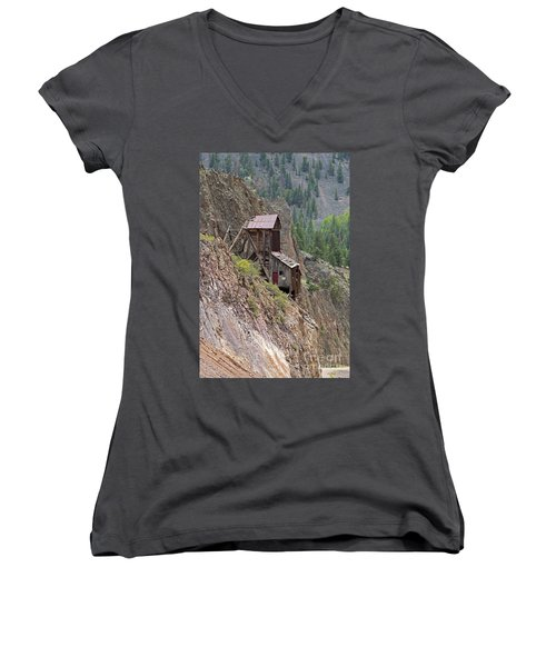 Commodore Mine On The Bachelor Historic Tour Women's V-Neck (Athletic Fit)