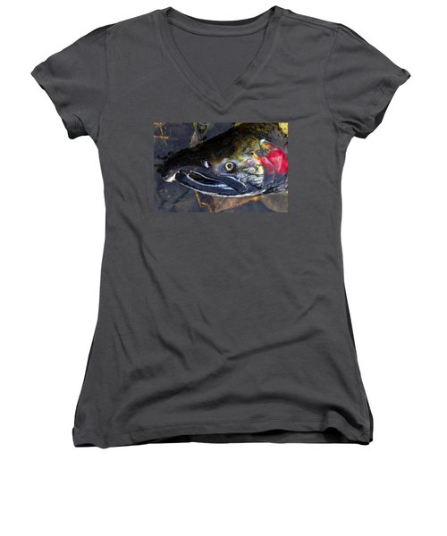 Finished Women's V-Neck (Athletic Fit)