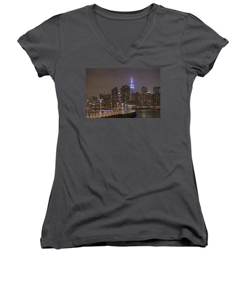 Gantry Nights Women's V-Neck