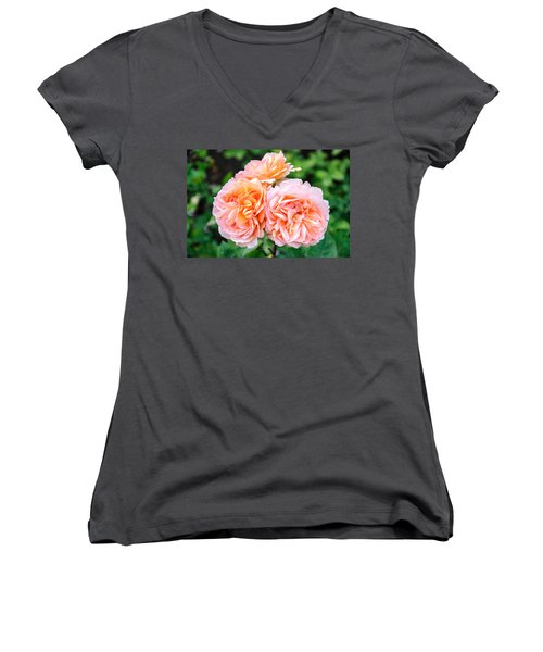 Happy  Women's V-Neck
