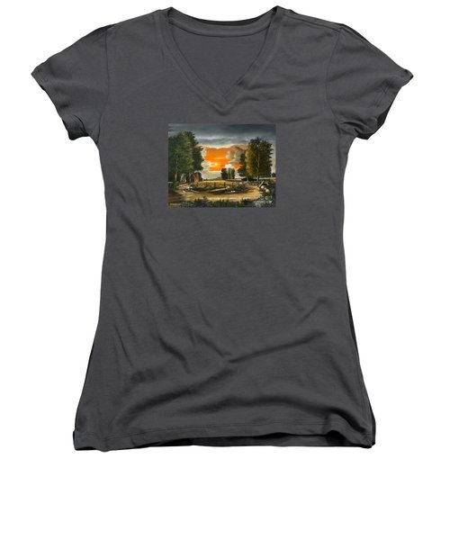 Hoggets Farm Women's V-Neck