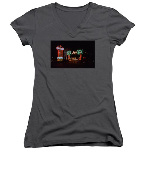Las Vegas 1983 Women's V-Neck T-Shirt