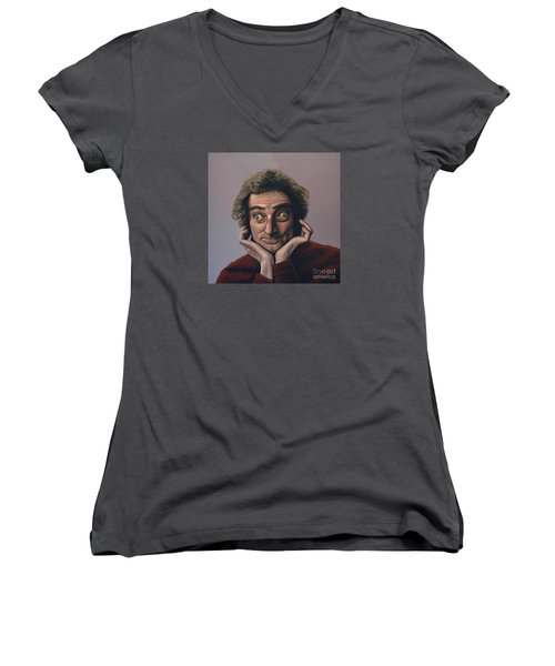 Marty Feldman Women's V-Neck T-Shirt