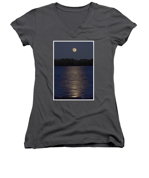 Moonrise Women's V-Neck T-Shirt