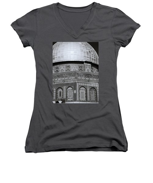 Jerusalem Mosaic Women's V-Neck