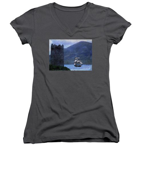 Petitioning The Queen Women's V-Neck