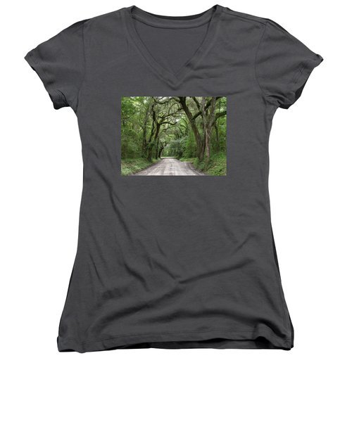 Plantation Road II Women's V-Neck T-Shirt