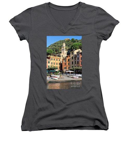 Portofino Women's V-Neck T-Shirt (Junior Cut) by Antonio Scarpi