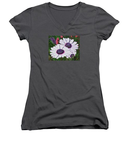 Purple Punch Women's V-Neck (Athletic Fit)