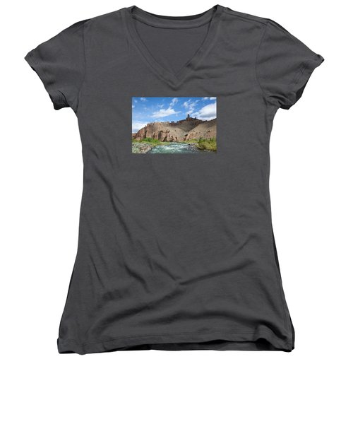 Shoshone River Women's V-Neck (Athletic Fit)