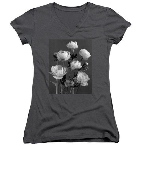 Still Life Of Flowers Women's V-Neck