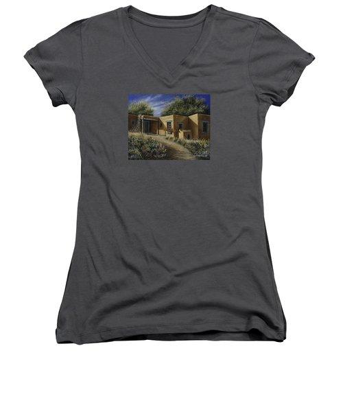 Sunny Day Women's V-Neck T-Shirt